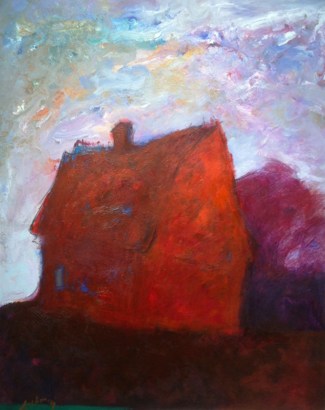 "Barns of Bucks County - 38"" x 32"""