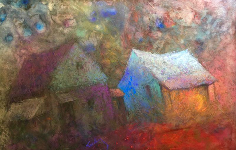 Transcending Time - 32 x 44