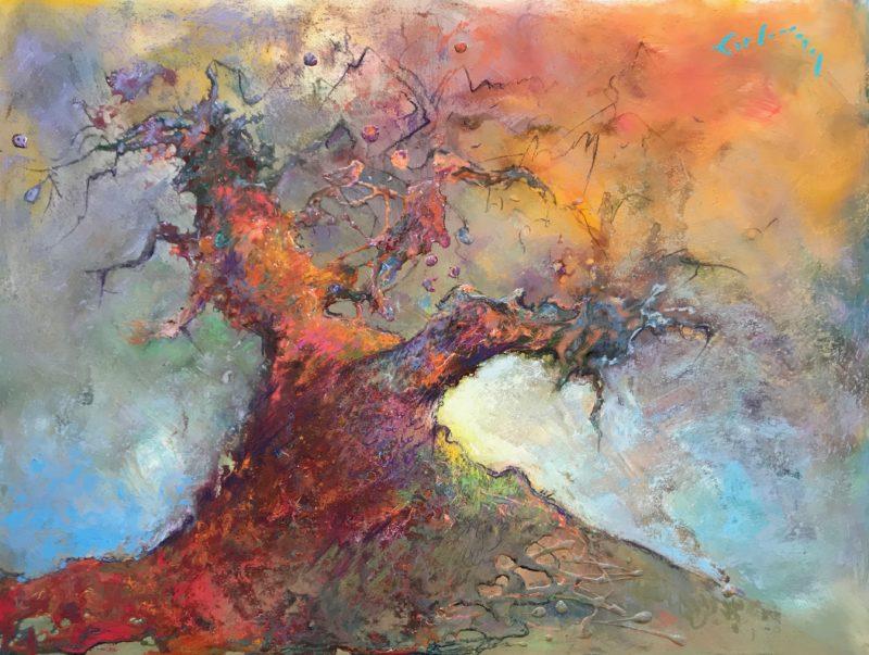 "Tree of Life #2 - 24"" x 30"""