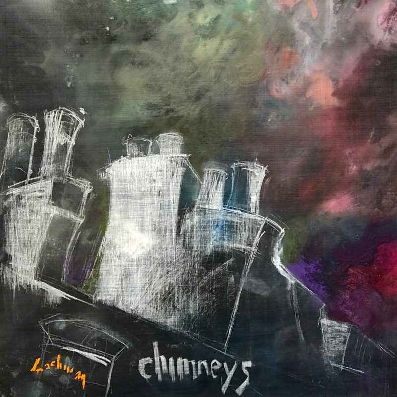 "Chimneys - 36"" x 36"""