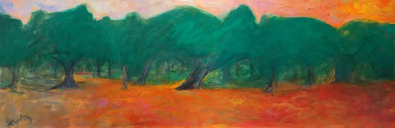 """The Forest - 22"""" x 52"""""""
