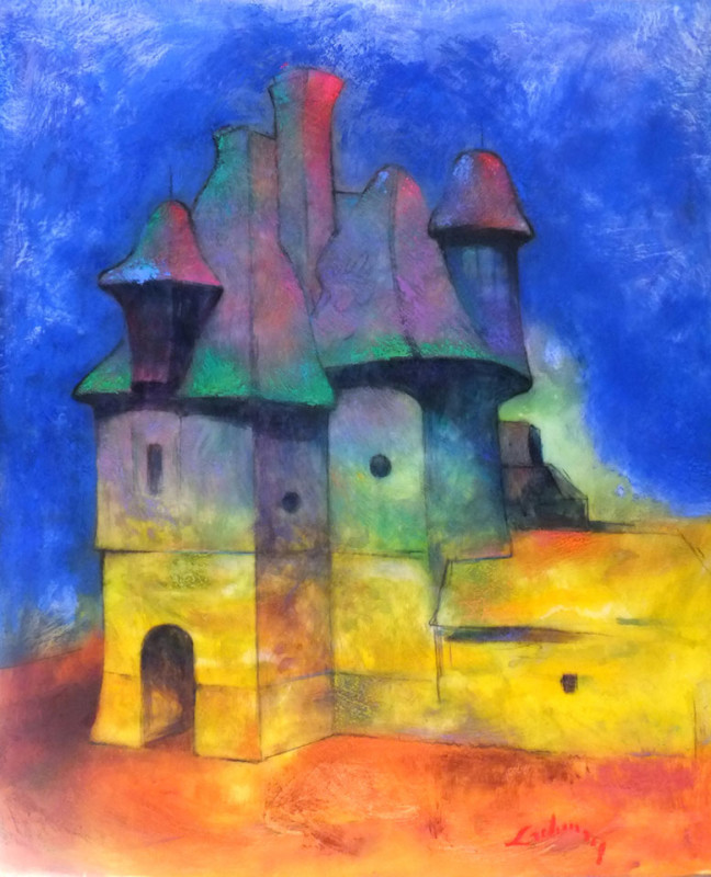 Le Chateau (The Castle) - 42 x 36