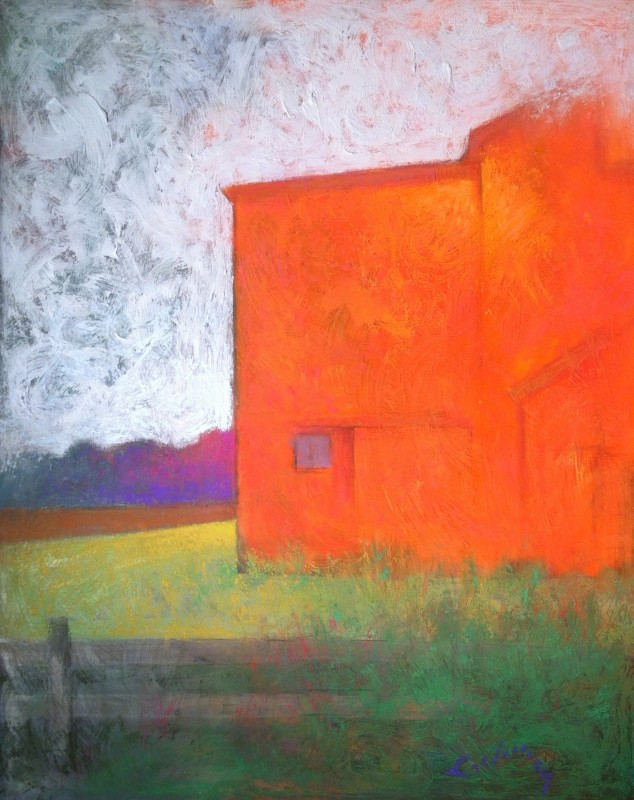 Haunting Magic of an American Barn - 38 x 32