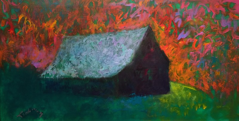 "Bucks Barns on Parade #7 - 22"" x 36"""