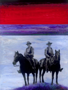 "GHOST RIDERS - 60"" x 80"""