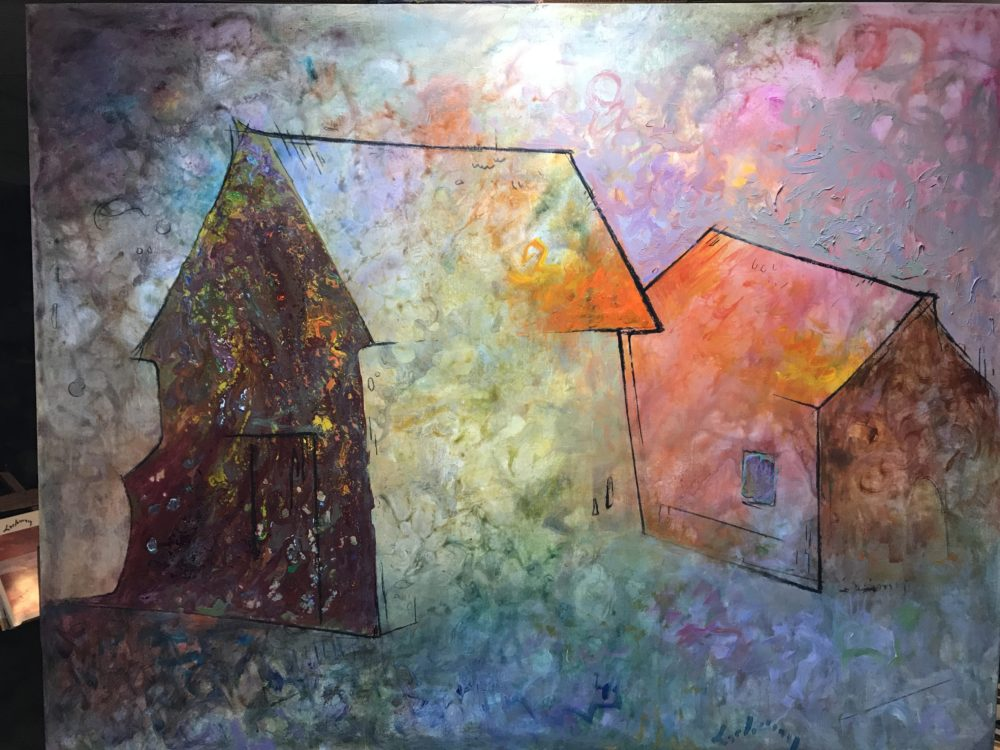 "HAUNTING MAGIC OF AN AMERICAN BARN - 44"" x 56"""
